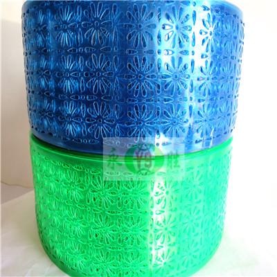 蓝、豆绿透气软门帘
