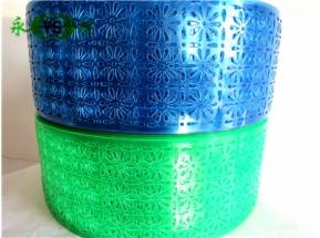 (蓝+豆绿)桔花料